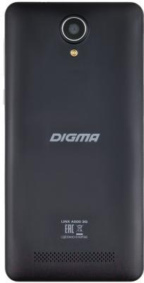 Смартфон Digma Linx A500 3G (графит)