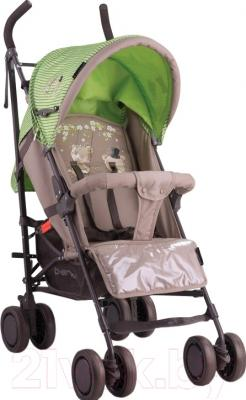 Детская прогулочная коляска Lorelli Fiesta Beige Green Bears (10020731629)