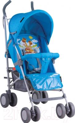 Детская прогулочная коляска Lorelli Terra Beige Blue Giraffe (10020051643)
