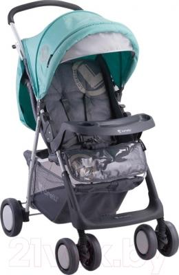 Детская прогулочная коляска Lorelli Terra (Gray-Green)
