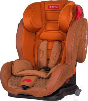 Автокресло Coletto Corto Isofix (оранжево-коричневый)