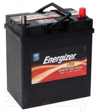 Автомобильный аккумулятор Energizer Plus 535118 / 541505000 (35 А/ч)