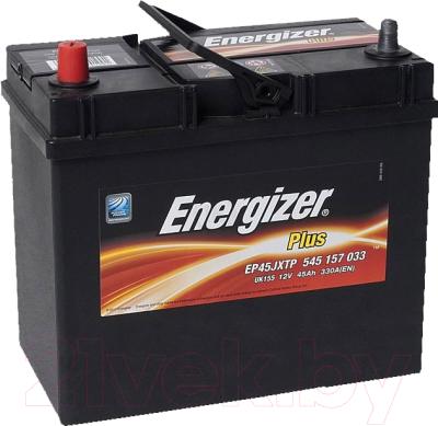 Автомобильный аккумулятор Energizer Plus 545155 / 541511000 (45 А/ч)