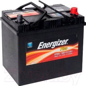 Автомобильный аккумулятор Energizer Plus 560412 / 560412051 (60 А/ч)