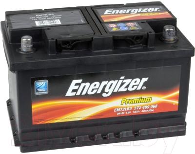 Автомобильный аккумулятор Energizer Premium 572409 / 541502000 (72 А/ч)