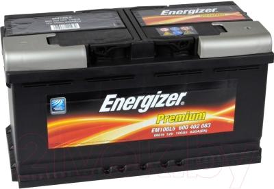 Автомобильный аккумулятор Energizer Premium 600402 / 542920000 (100 А/ч)
