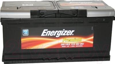 Автомобильный аккумулятор Energizer Premium 610402 / 591924000 (110 А/ч)