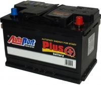 Автомобильный аккумулятор AutoPart Plus AP772 R+ (77 А/ч) -
