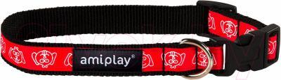 Ошейник Ami Play Joy (M, красная голова)