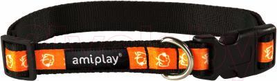 Ошейник Ami Play Joy (S, оранжевая собака)