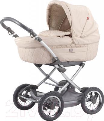 Детская универсальная коляска Happy Baby Charlotte (кремовый)