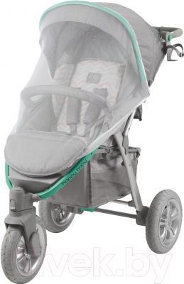 Детская прогулочная коляска Happy Baby Neon Sport (зеленый)