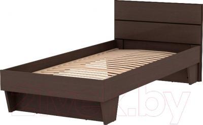 Односпальная кровать 3Dom СП003 (венге)