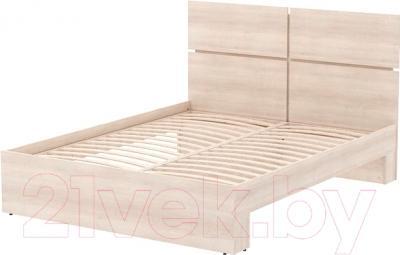Двуспальная кровать 3Dom Фрейя СП001/16 (акация молдавская)