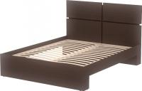 Двуспальная кровать 3Dom Фрейя СП001/16 (венге) -