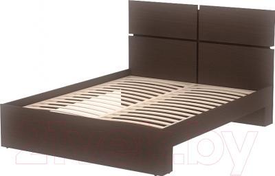 Двуспальная кровать 3Dom Фрейя СП001/16 (венге)
