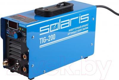 Сварочный аппарат Solaris TIG-200 + AK (TIG-MMA)