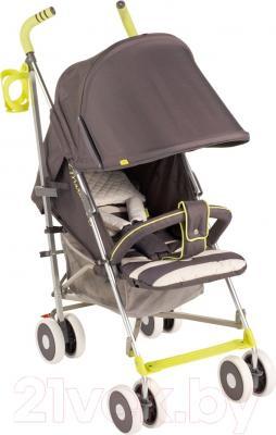 Детская прогулочная коляска Happy Baby Cindy (серый)