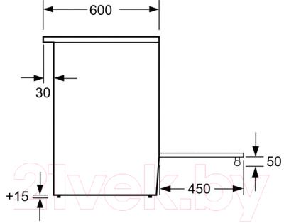 Кухонная плита Bosch HGA23W155R