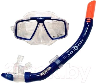 Набор для плавания Aqua Lung Sport Cozumel Pro + Airent Pro 60719 (синий)