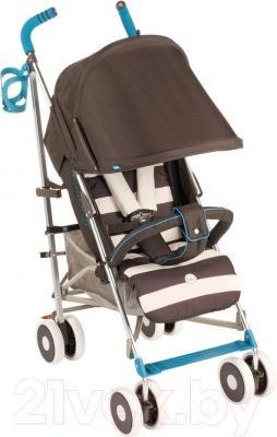 Детская прогулочная коляска Happy Baby Cindy (коричневый)