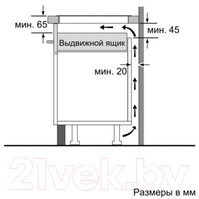 Индукционная варочная панель Bosch PIF675DE1E