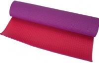 Коврик для йоги Motion Partner MP156 (розовый/фиолетовый) -