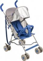 Детская прогулочная коляска Happy Baby Twiggy (синий) -