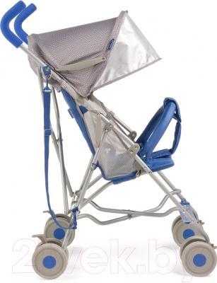 Детская прогулочная коляска Happy Baby Twiggy (синий)