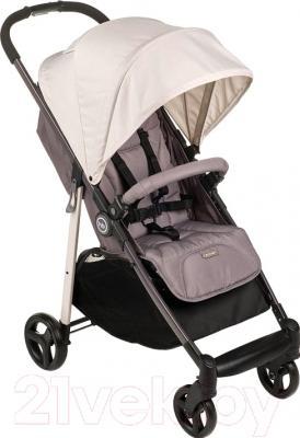 Детская прогулочная коляска Happy Baby Crossby (бежевый)