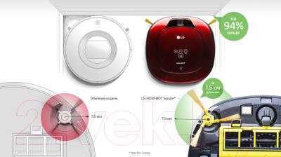 Робот-пылесос LG VR63406LV