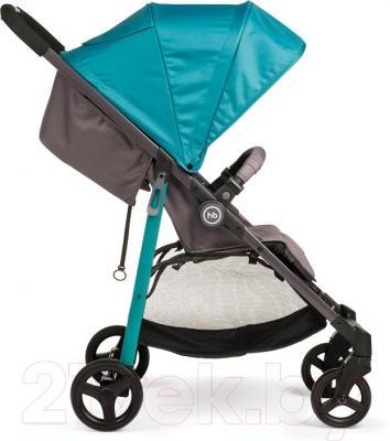 Детская прогулочная коляска Happy Baby Crossby (морской)