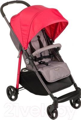 Детская прогулочная коляска Happy Baby Crossby (вишневый)