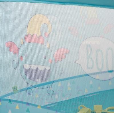 Игровой манеж Happy Baby Alex (синий)
