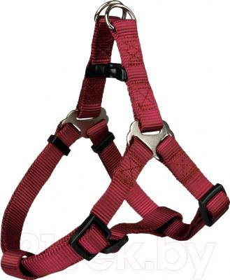 Шлея Trixie Premium Harness 20450 (M, бордовый)