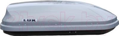 Автобокс Lux 600 440L 695163 (серый металлик)