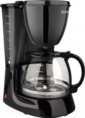 Капельная кофеварка Scarlett SC-CM33007 (черный)