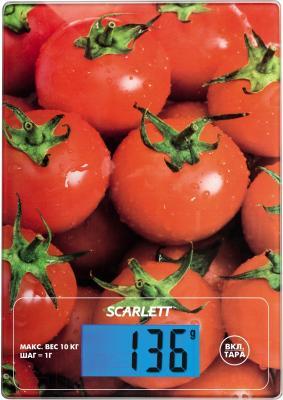Кухонные весы Scarlett SC-KS57P10 (томаты)
