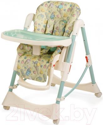 Стульчик для кормления Happy Baby Kevin V2 (синий)