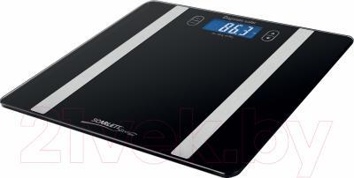 Напольные весы электронные Scarlett SL-BS34ED42 (черный)
