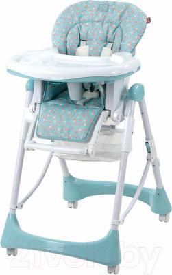 Стульчик для кормления Happy Baby Kevin (синий)