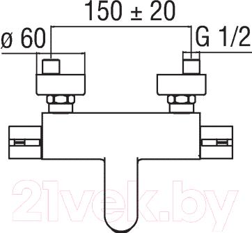 Смеситель Nobili Abc AB87010/1CR - схема