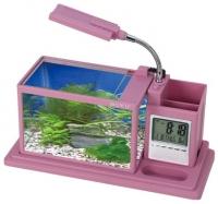 Аквариумный набор Aquael Desk Mini 222901 (розовый) -