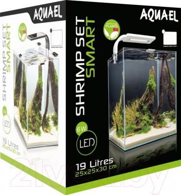 Аквариумный набор Aquael Shrimp Set Smart 113231 (белый)