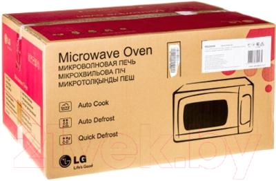 Микроволновая печь LG MS2043H - коробка