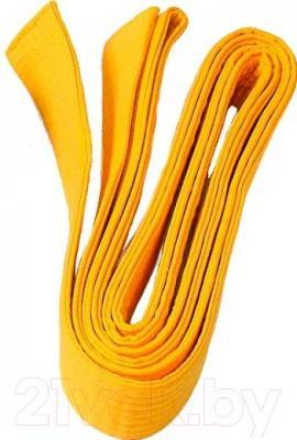 Пояс для кимоно NoBrand KAR-B (желтый)