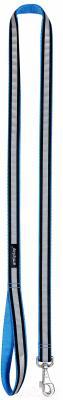 Поводок Ami Play Shine (L, голубой)
