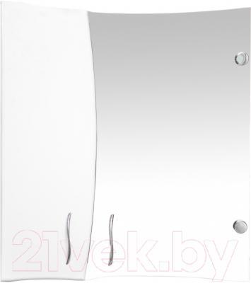 Шкаф с зеркалом для ванной Кветка Мадейра 600-01 (правый)