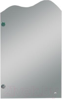 Шкаф с зеркалом для ванной Кветка Ява 450-01 (правый)