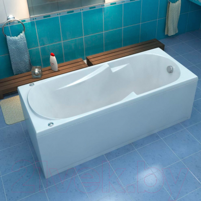 Ванна акриловая BAS Нептун 170x70